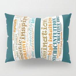 Life Path 11 (color background) Pillow Sham