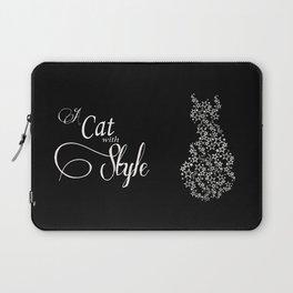 Constellation Cat B&W Laptop Sleeve