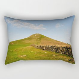 Roseberry Topping Rectangular Pillow