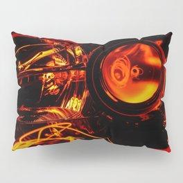 Red Headlight Pillow Sham
