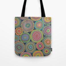 Boho Patchwork-Eden colors Tote Bag