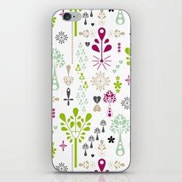 Retro Folk iPhone Skin