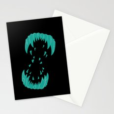 Big Alien Gorilla-Wolf Mother... Stationery Cards