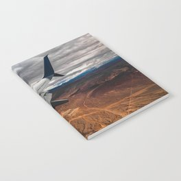 wing over mars Notebook