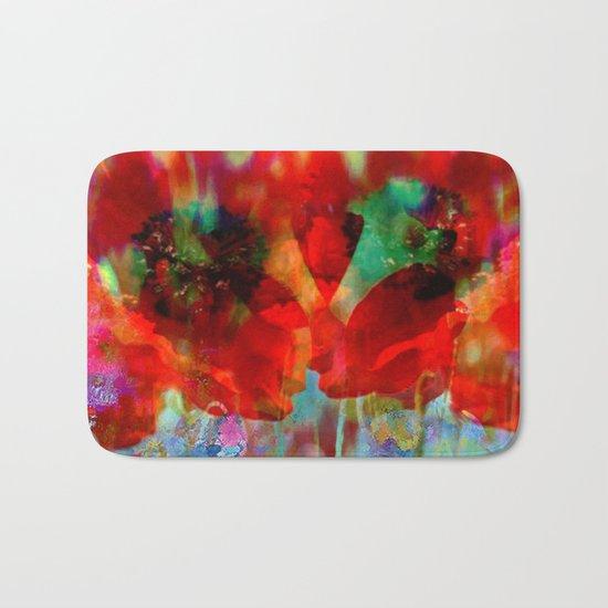 Simple as flowers Bath Mat