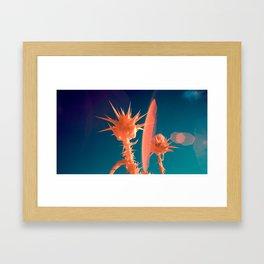 Thistles Framed Art Print