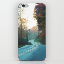 Endless Curves iPhone Skin