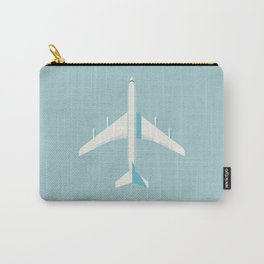 707 Passenger Jet Airliner Aircraft - Sky Carry-All Pouch