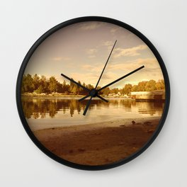 By the Dock Wall Clock