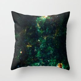 Can't Shine Without Darkness, Galaxy Nebula Background, Universe Large Print, Space Wall Art Decor Throw Pillow