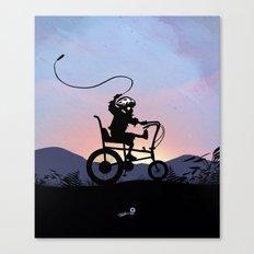 Ghost Rider Kid Canvas Print
