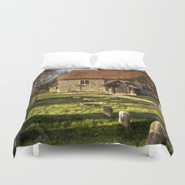 Church of St Mary Sulhamstead Abbots Duvet Cover