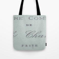 Fonts Tote Bag