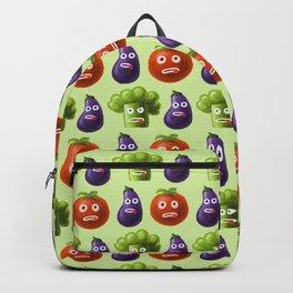 Funny Cartoon Vegetables Backpack