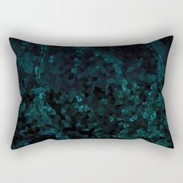 Stone Turquoise pattern Rectangular Pillow