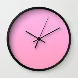 GIRL FLICKS - Minimal Plain Soft Mood Color Blend Prints Wall Clock