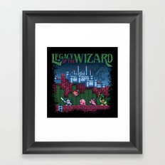 Wizard of the Legacy Framed Art Print