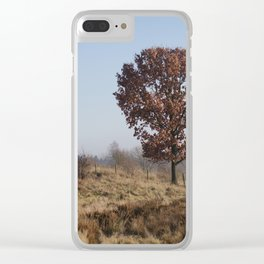 Single Tree On Chasewater Heath Clear iPhone Case