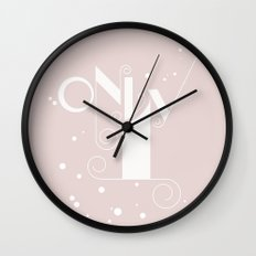 Only1 Wall Clock