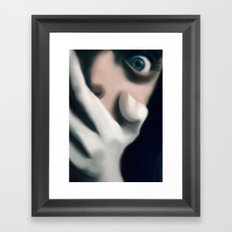 the scare Framed Art Print