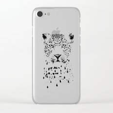 Raining again Clear iPhone Case