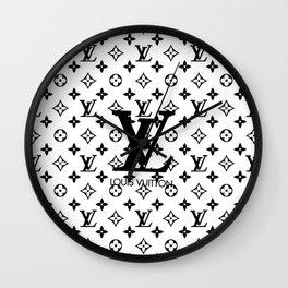 LV - pattern Wall Clock