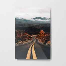 Road to Valley of Fire Metal Print