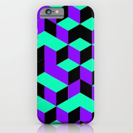 Isometric Steps iPhone Case