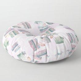 Evoke's Brushstokes Floor Pillow