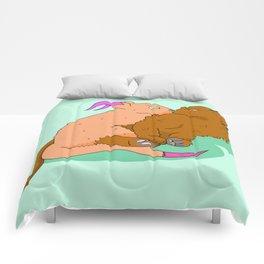 Two Strange Kittens Comforters