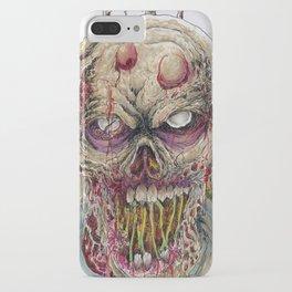 Walking Dead Horror Zombie Art iPhone Case