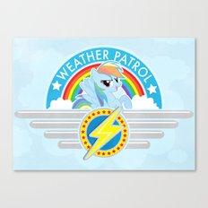 Weather Patrol Canvas Print