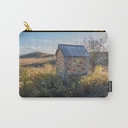 Outhouse, Hurd Round House, ND 1 Carry-All Pouch
