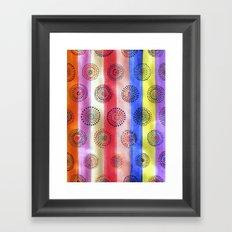 personal flag Framed Art Print