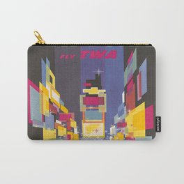 Fly TWA New York Carry-All Pouch