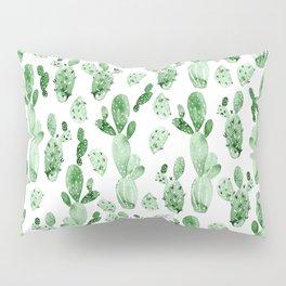 Green Cactus Field Pillow Sham