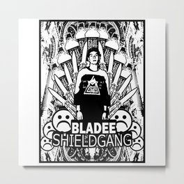 Yung Lean - Shield Gang Metal Print
