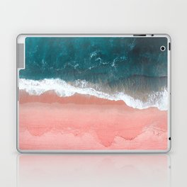 Turquoise Sea Pastel Beach III Laptop & iPad Skin