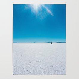 In the Distance, Salar de Uyuni, Bolivia Salt Flats Poster
