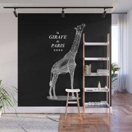 Girafe de Paris x-ray Wall Mural