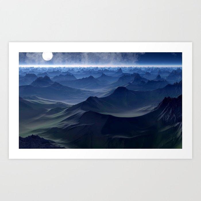 planetary discoveries Art Print