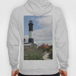 Walkway To Fire Island Lighthouse Hoody