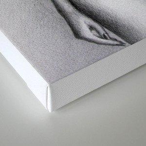 Blindfolded original Canvas Print