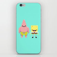 A Sponge & Starfish iPhone & iPod Skin