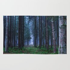 Green Magic Forest Rug