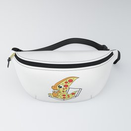 """Cute and adorable """"Pizzasaurus"""" tee design. Perfect for both pizza and dino lovers like you!  Fanny Pack"""