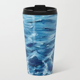Acrylic wave Travel Mug