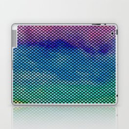 Rainbow Mermaid Tail Laptop & iPad Skin