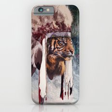 Tiger in war bonnet Slim Case iPhone 6s