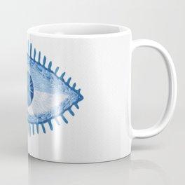 Embroidered evil Eyes Coffee Mug